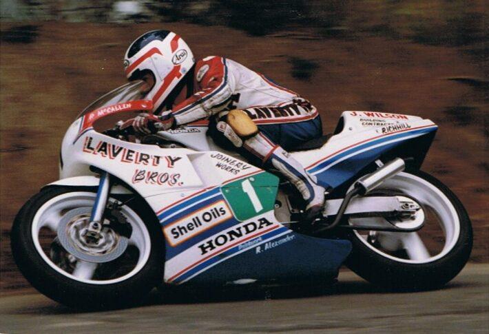 Phillip McCallen at Killalane, 1988
