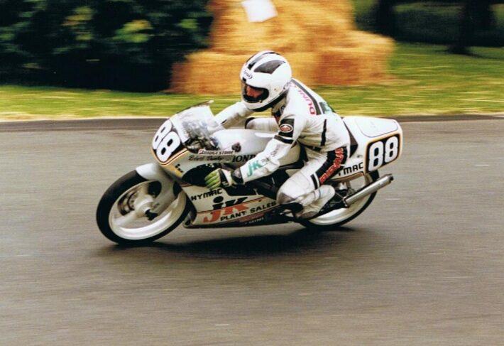 Robert Dunlop at Aberdare Park, 1991