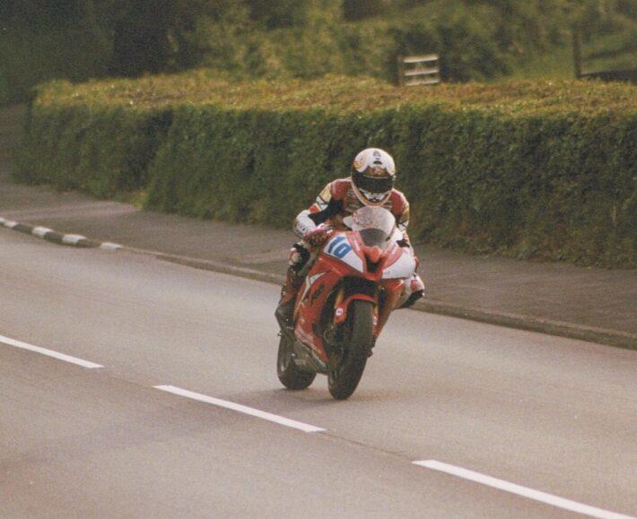 Steve Plater at 2008 TT