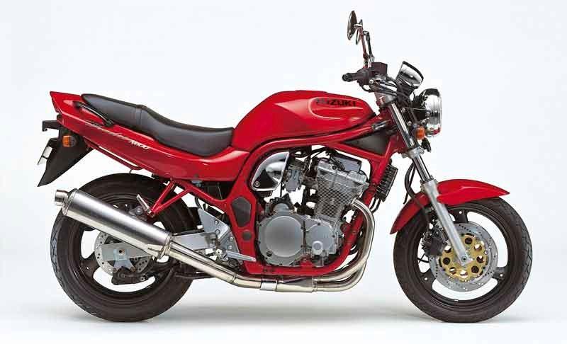 Suzuki 600 Bandit credit MCN
