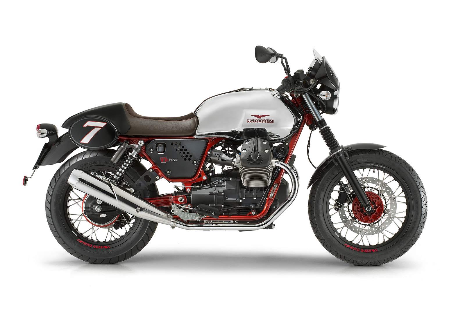 Moto Guzzi V7 Racer credit Moto Guzzi