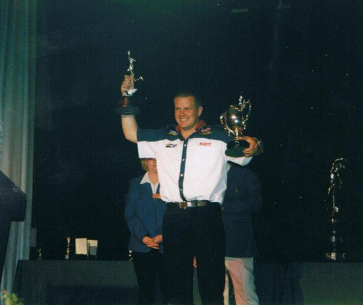 David Jefferies at TT 2002