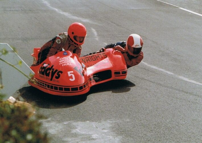 Eddy Wright in 1989 at Oliver's Mount