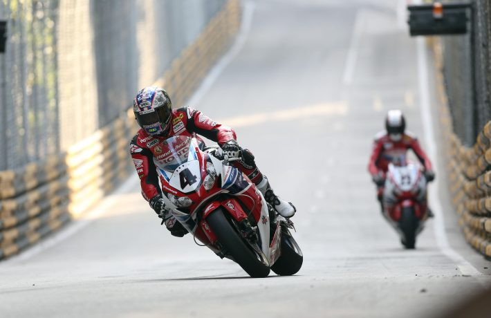 John McGuinness at Macau GP