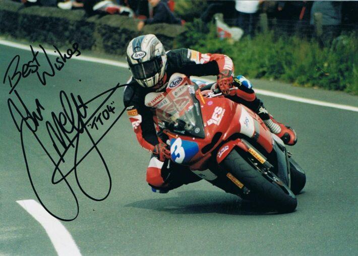 John McGuinness TT 2004 credit Phil Wain's Family Archive