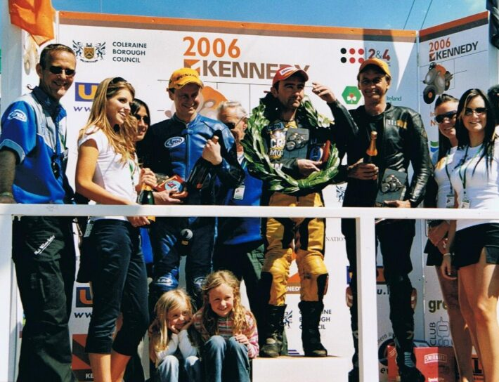 Robert Dunlop's 15th win at North West 200