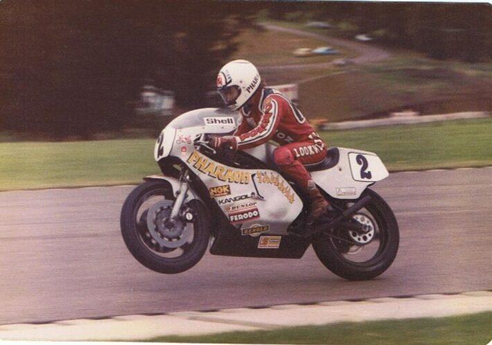 Ron Haslam at Donnington Park