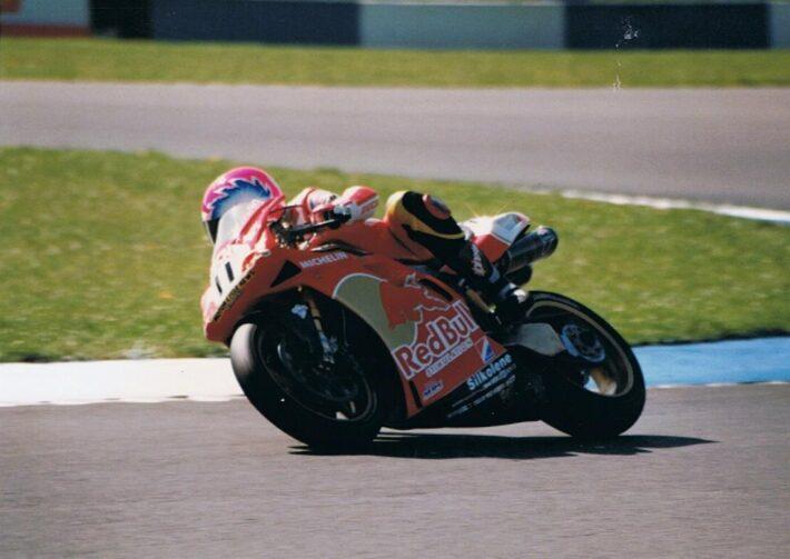 Steve Hislop at 1997 Donington Park