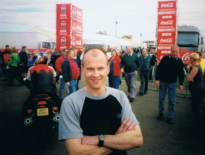 Steve Hislop at 1999 North West 200