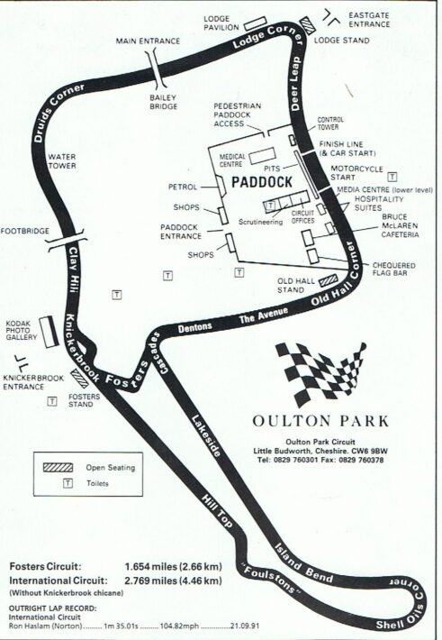 British Superbike Championship Course Guides Devitt