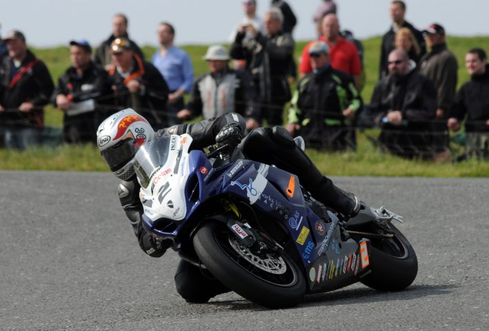 PACEMAKER PRESS BELFAST 11/08/12: Dan Kneen on his Suzuki at the Hairpin during the first superbike race at the 2012 Ulster Grand Prix PHOTO BY SIMON PATTERSON/PACEMAKER