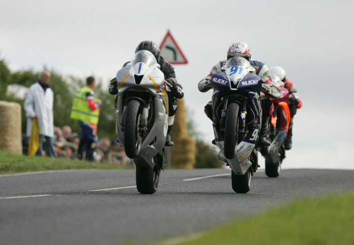 Guy Martin taking on Deers Leap