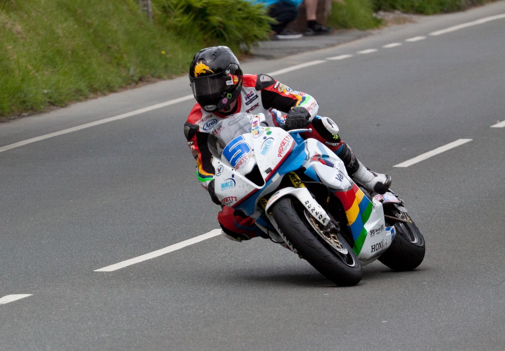 Bruce Anstey Monster Supersport TT 2014 image credit davidmeggers on flickr