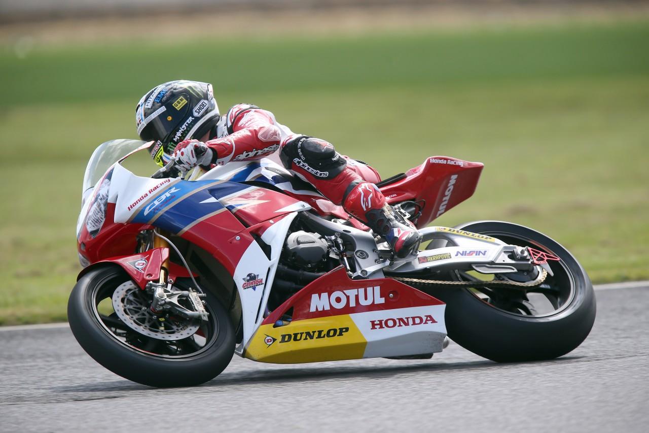 John McGuinness image credit Honda Racing
