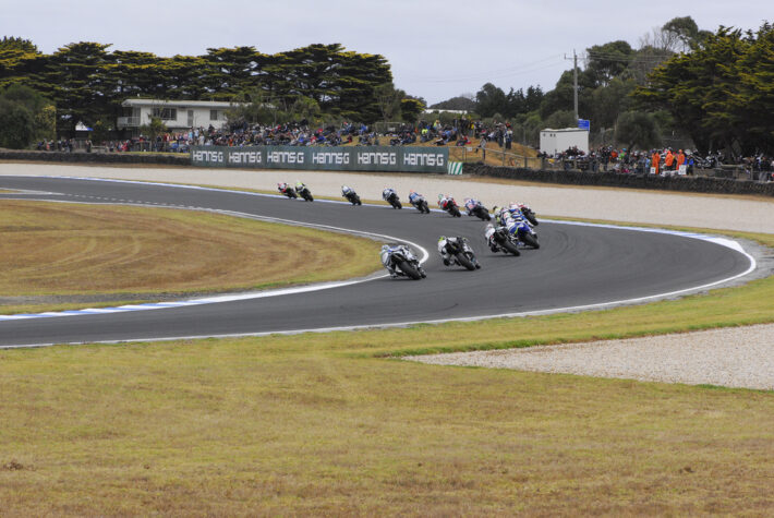 World Superbike at Phillip Island, 2009.