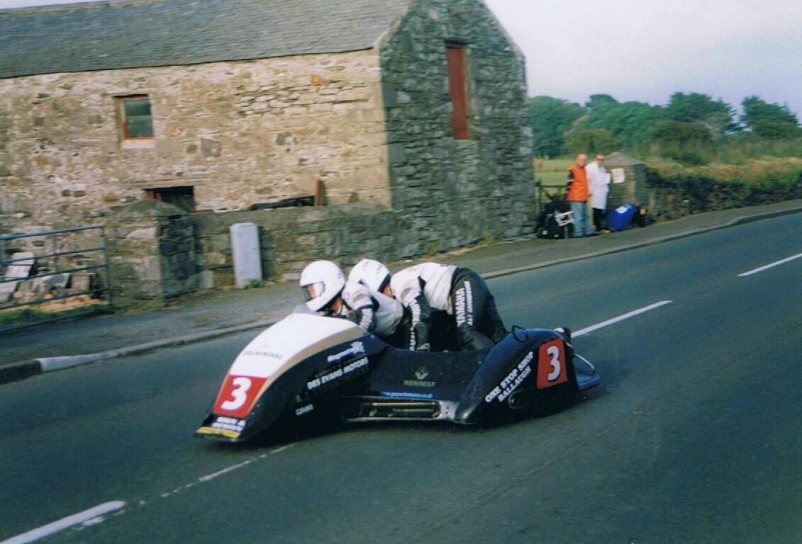 2 Nick Crowe and Darren Hope – 2003 – Ballakeighan S100