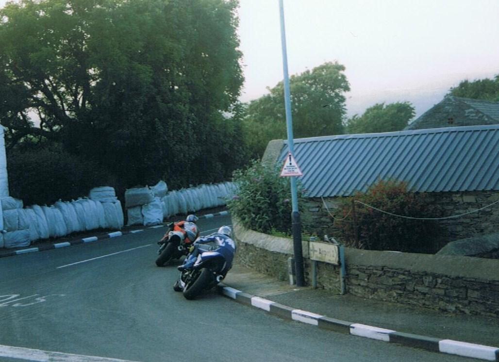 3 Guy Martin and Martin Finnegan – 2003 – Ballakeighan S100