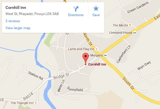 Cornhill Inn Map