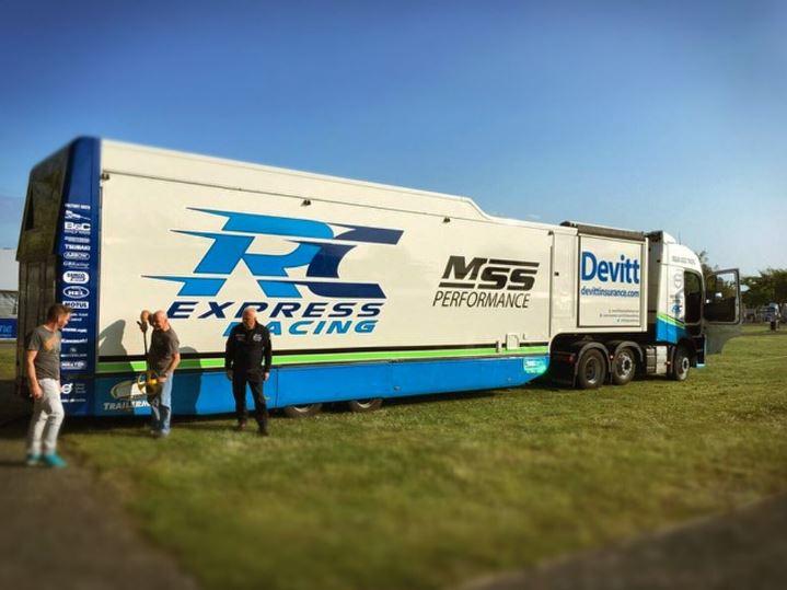 Devitt Team RC Express truck