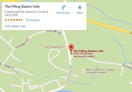 The Filling Station map