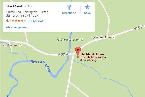 The Manifold Inn map