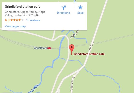 Grindleford Station Cafe Mao