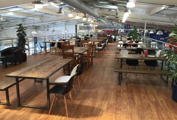 Harrys Cafe layout credit tripadvisor