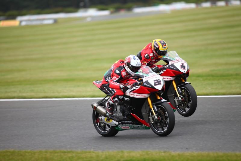 Honda remain strong with O'Halloran and Linfoot