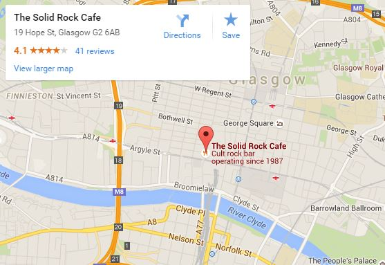 Solid Rock Cafe map