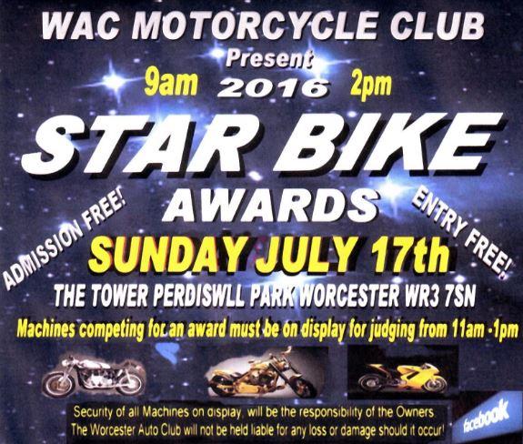 WAC Bike Awards