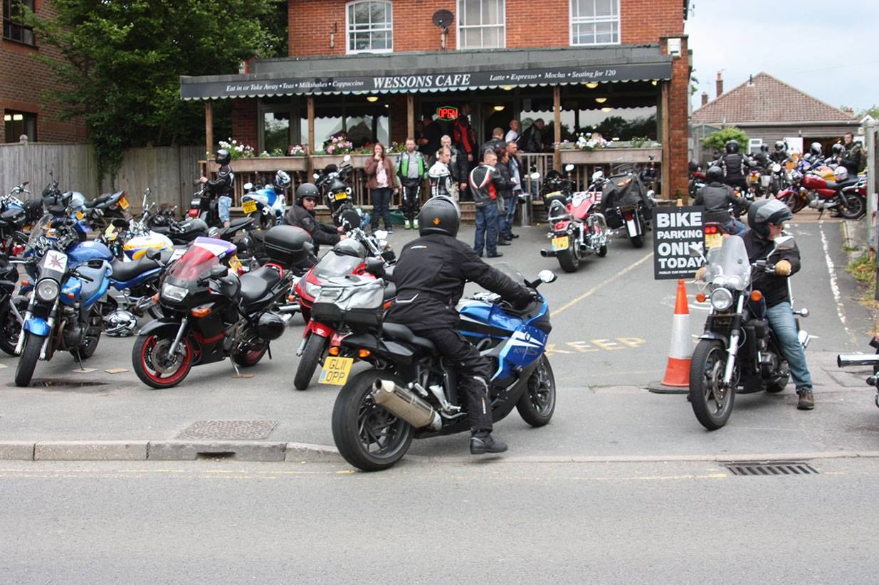 Wessons Cafe bikers credit fb