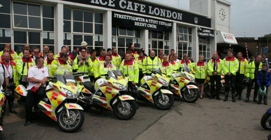 Ace Cafe London SERV visit credit FB
