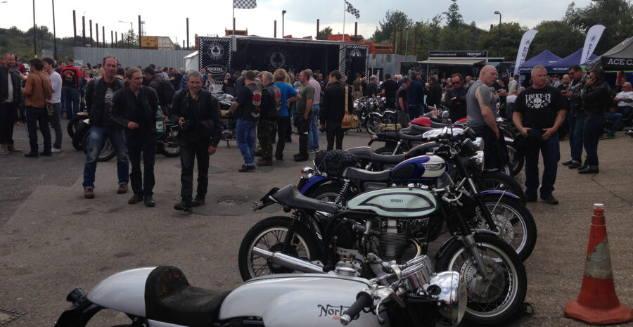 Ace Cafe Rockers Reunion credit flickr Flattrackers and Caferacers