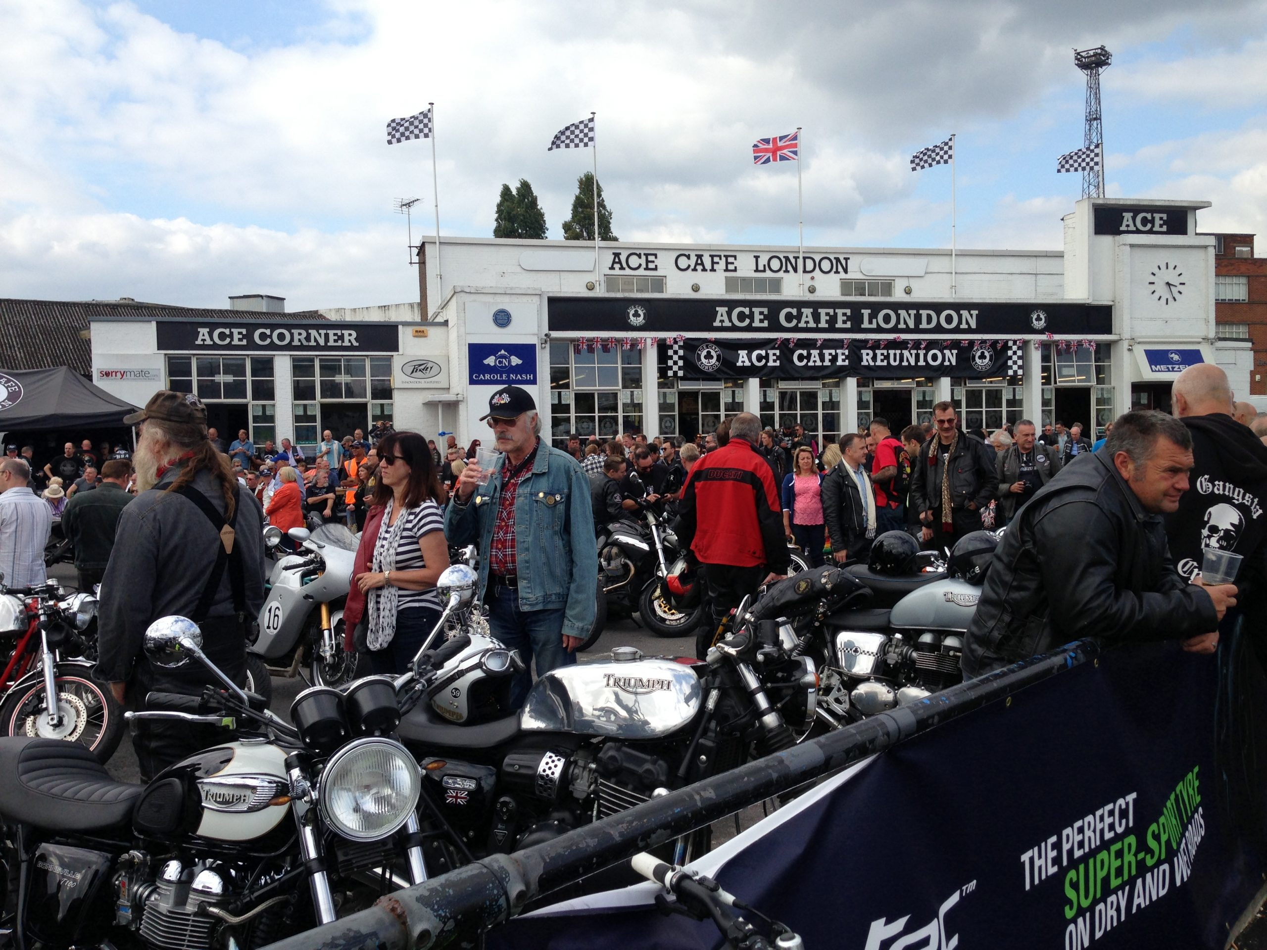 Ace Cafe rockes reunion credit flattrackers and caferacers flickr
