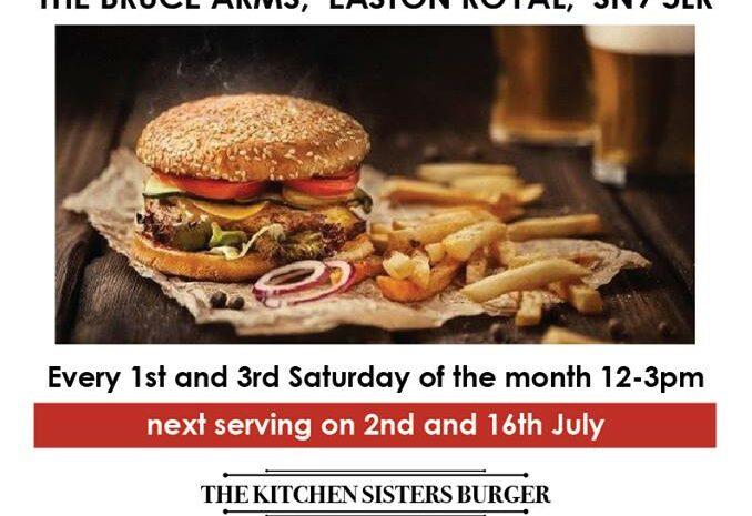Bruce Arms burger night credit fb