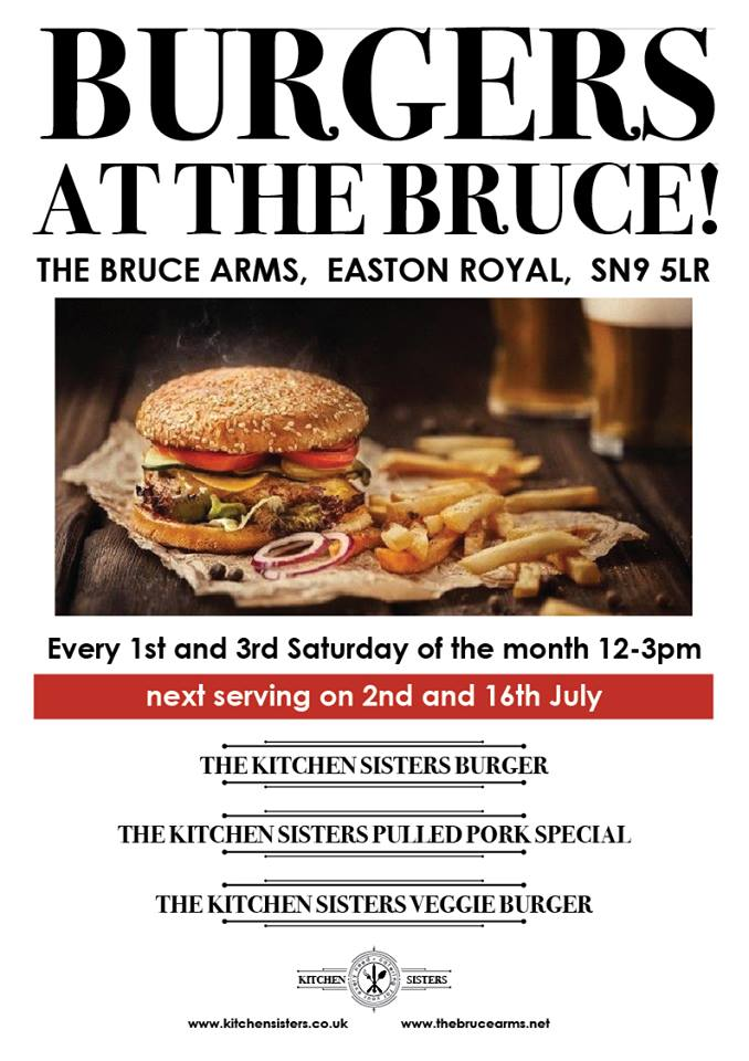 Bruce Arms burger night credit fb