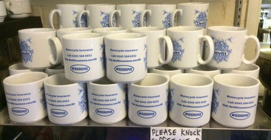 Devitt mugs at Wessons Cafe credit Facebook