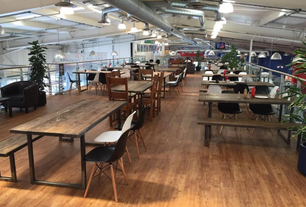 Harrys Cafe layout credit tripadvisor