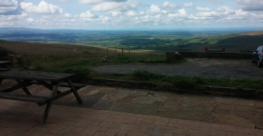 Hartside Cafe outdoor view credit fb