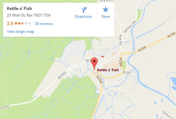 Kettle o Fish map