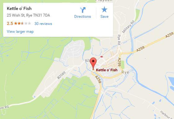 Kettle o Fish map