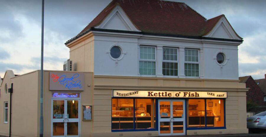 Kettle o Fish outside