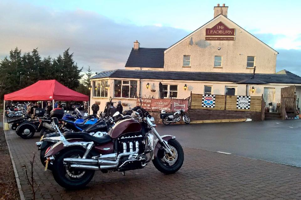 Leadburn Cafe outside credit official facebook page
