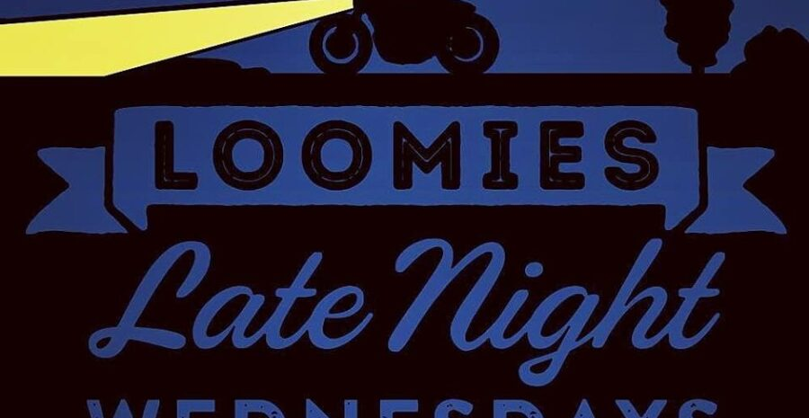 Loomies Moto Cafe late night poster credit official loomies fb