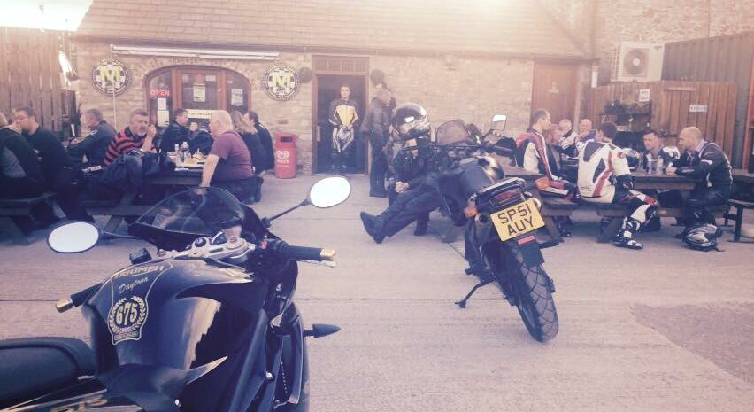 Manor Cafe bike meet credit fb
