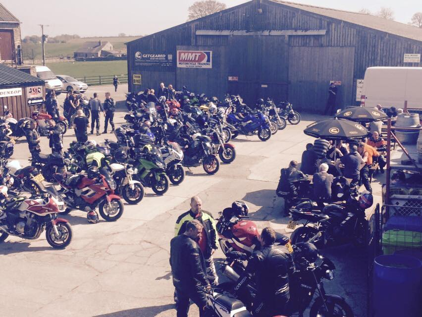 Manor Cafe bikers gathering credit fb