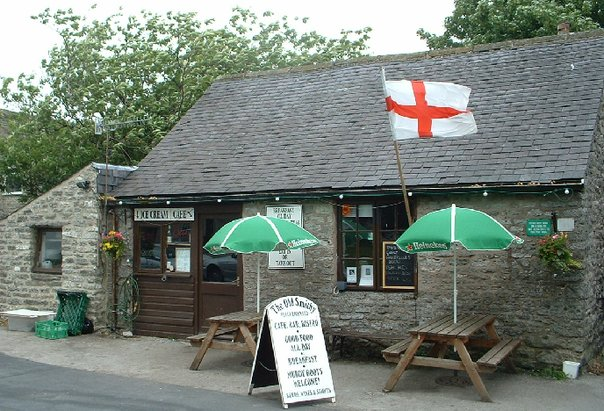 Old Smithy Tearoom outside credit fb