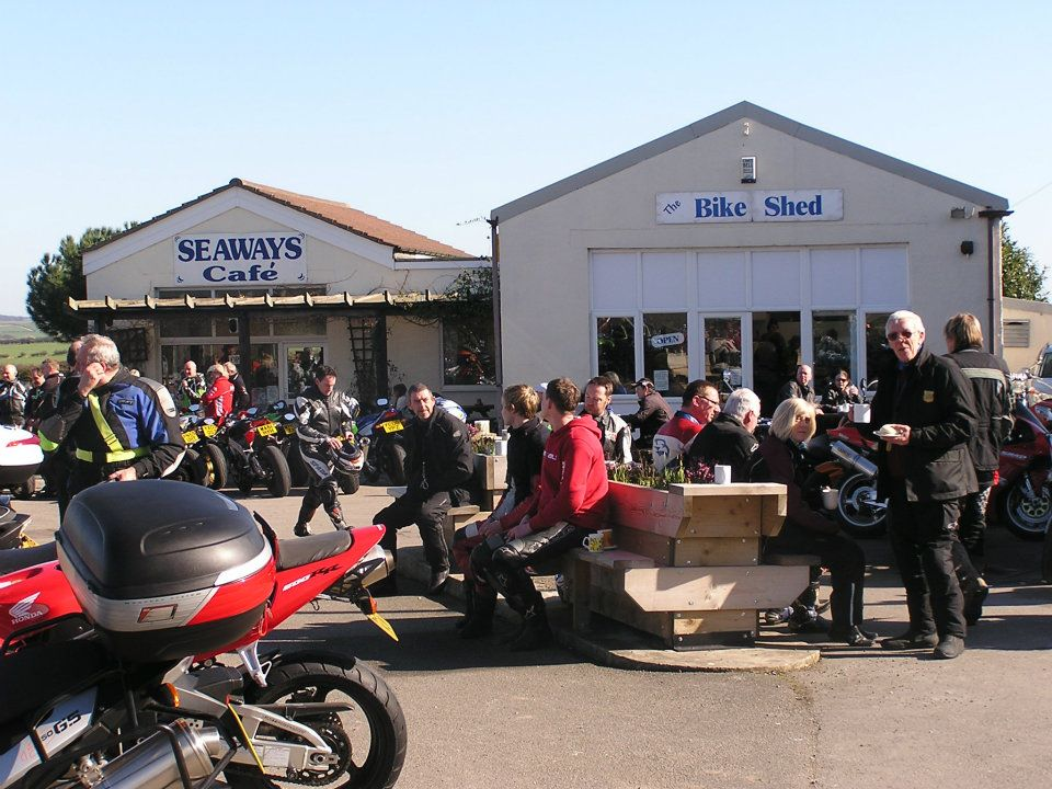Seaways cafe busy with bikers credit fb