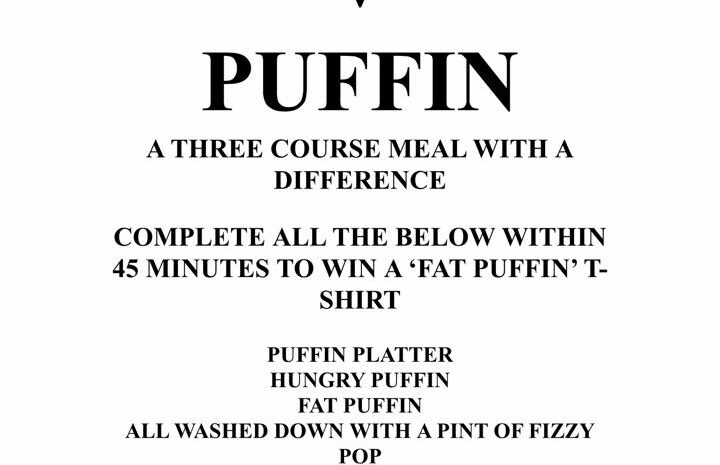 Wee puffin food challenge credit fb