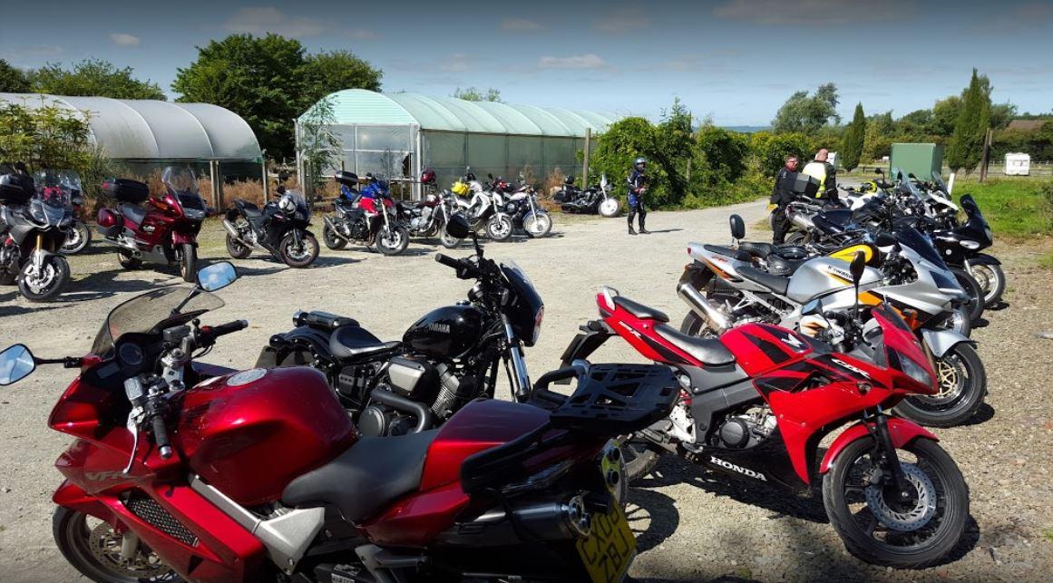 doms bike stop bikers parked